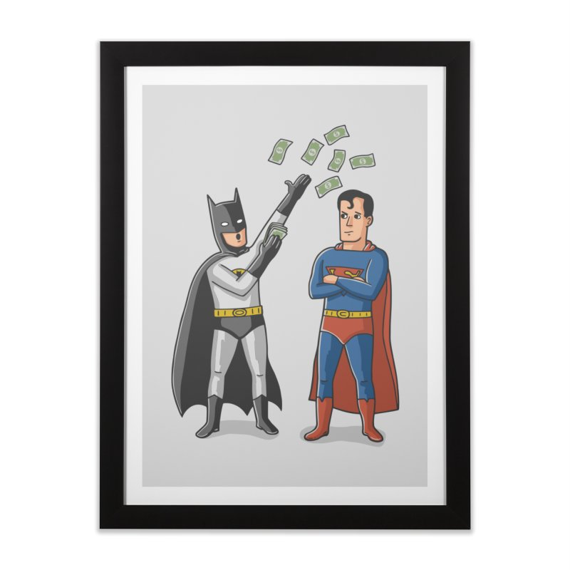Super Rich Home Framed Fine Art Print by Ibyes