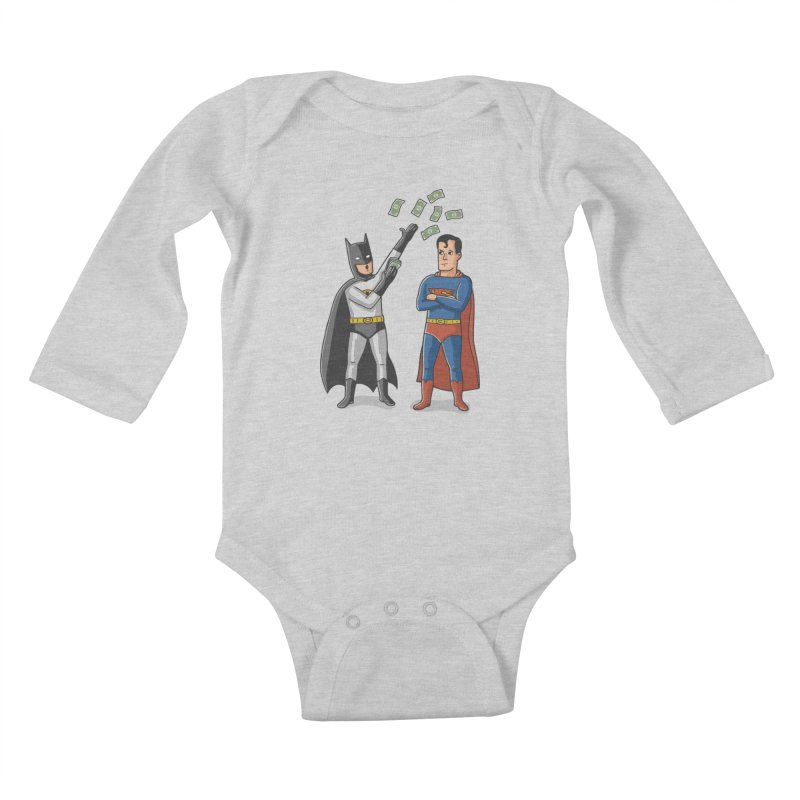 Super Rich Kids Baby Longsleeve Bodysuit by Ibyes