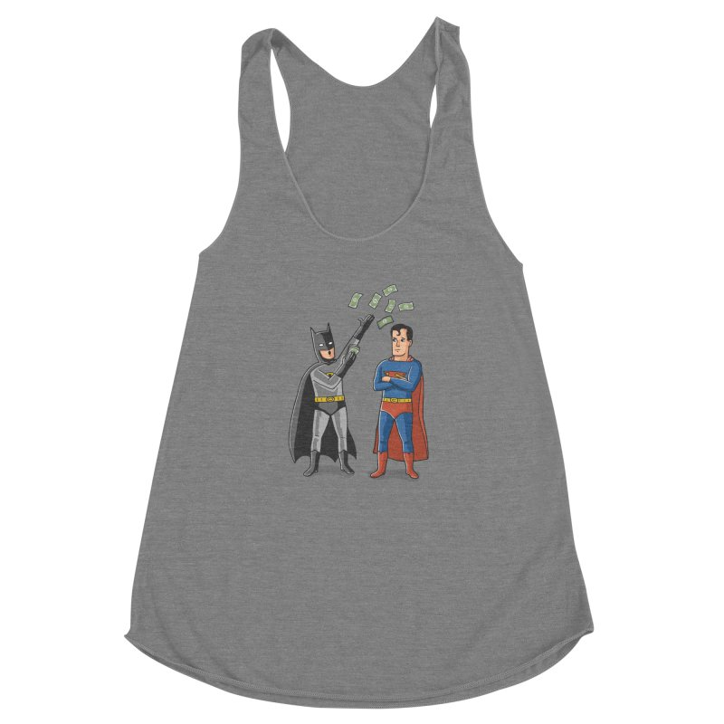 Super Rich Women's Racerback Triblend Tank by Ibyes