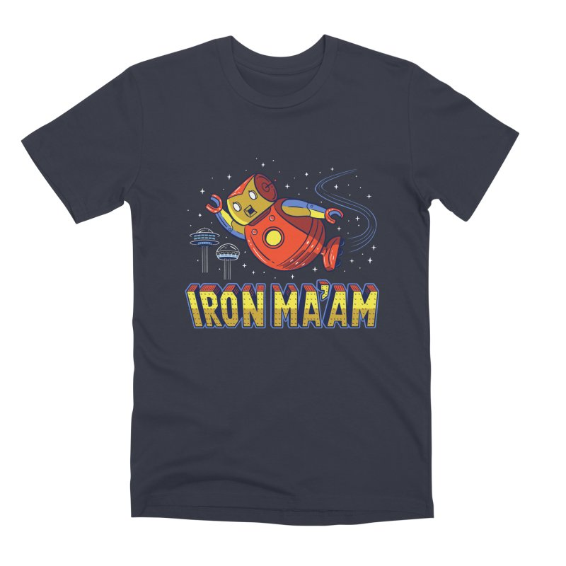 Iron Ma'am Men's Premium T-Shirt by Ibyes