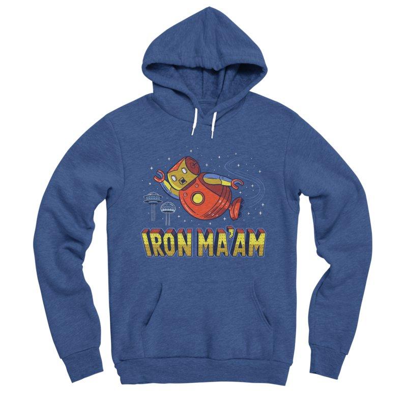 Iron Ma'am Women's Sponge Fleece Pullover Hoody by Ibyes