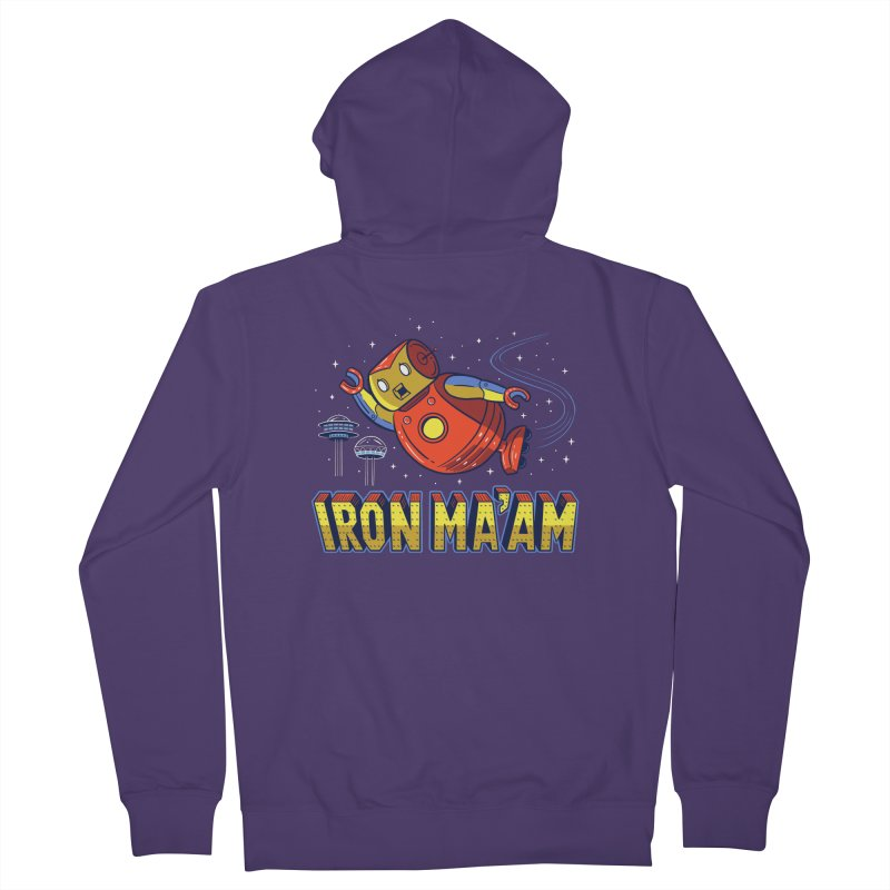 Iron Ma'am Women's French Terry Zip-Up Hoody by Ibyes