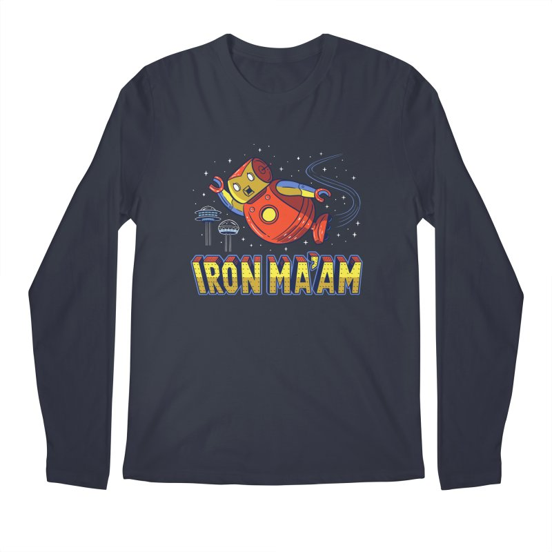 Iron Ma'am Men's Regular Longsleeve T-Shirt by Ibyes