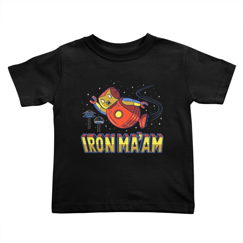 Iron Ma'am Kids Toddler T-Shirt by Ibyes