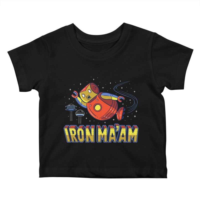 Iron Ma'am Kids Baby T-Shirt by Ibyes