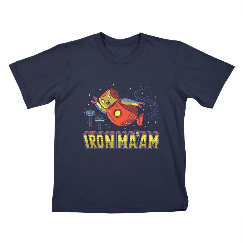 Iron Ma'am Kids T-Shirt by Ibyes