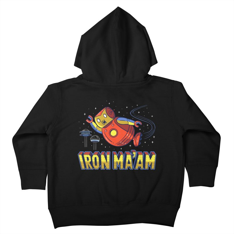 Iron Ma'am Kids Toddler Zip-Up Hoody by Ibyes