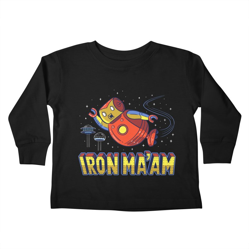 Iron Ma'am Kids Toddler Longsleeve T-Shirt by Ibyes
