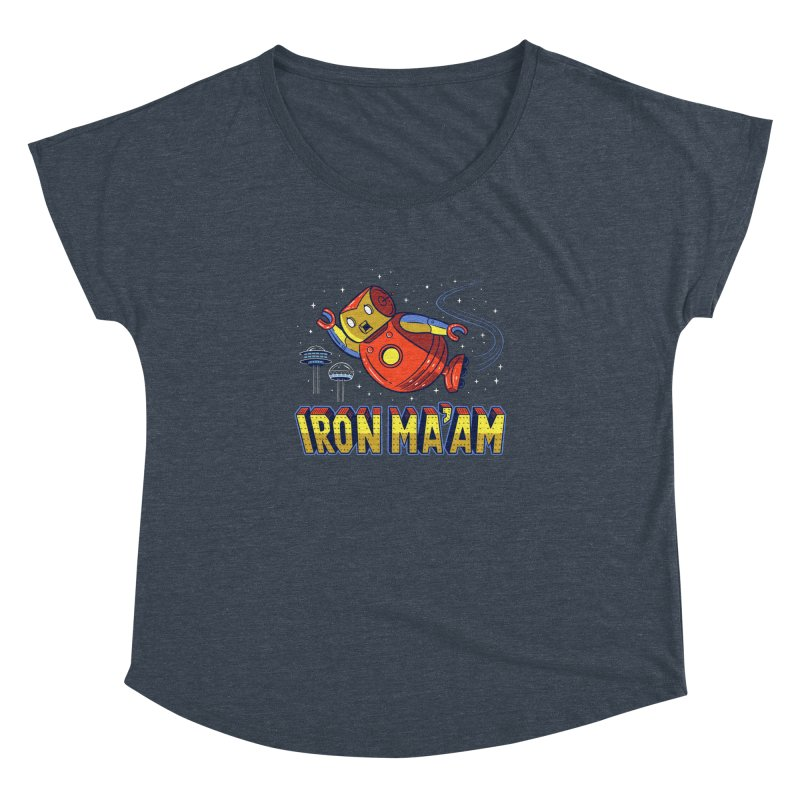 Iron Ma'am Women's Dolman Scoop Neck by Ibyes