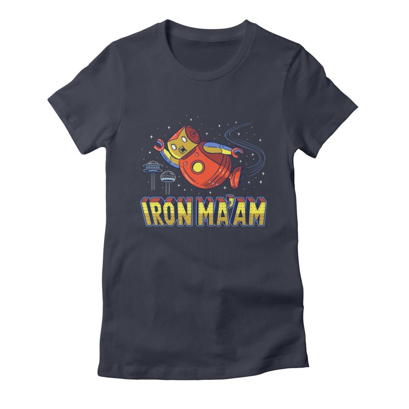 Iron Ma'am Women's Fitted T-Shirt by Ibyes