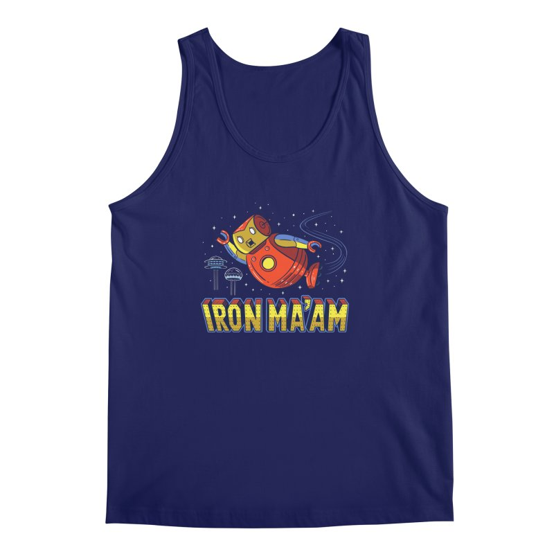 Iron Ma'am Men's Regular Tank by Ibyes