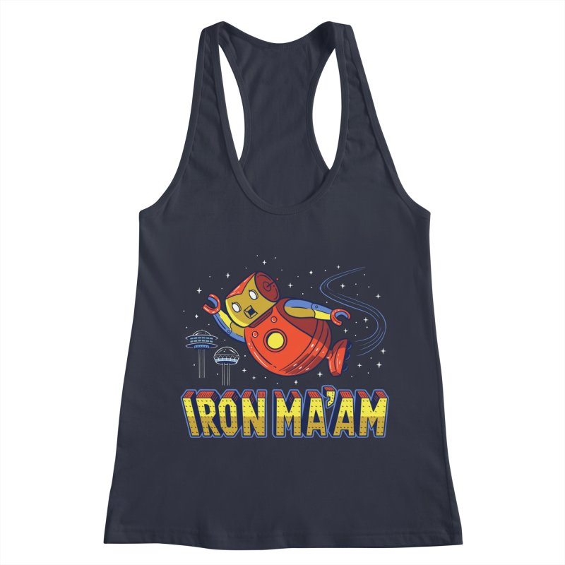 Iron Ma'am Women's Racerback Tank by Ibyes