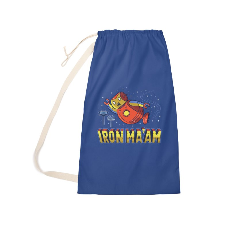 Iron Ma'am Accessories Laundry Bag Bag by Ibyes