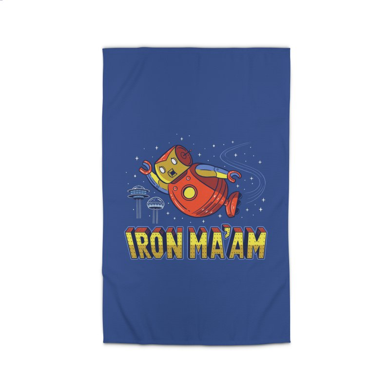 Iron Ma'am Home Rug by Ibyes