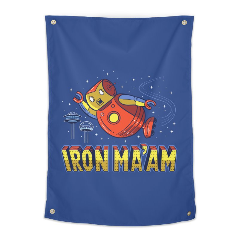 Iron Ma'am Home Tapestry by Ibyes