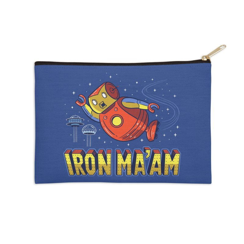Iron Ma'am Accessories Zip Pouch by Ibyes