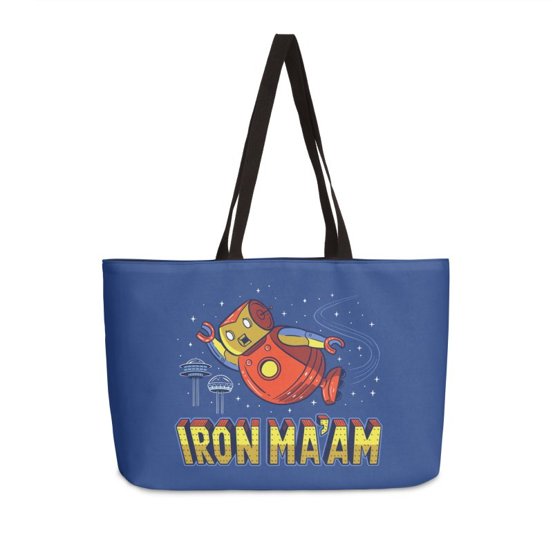 Iron Ma'am Accessories Weekender Bag Bag by Ibyes