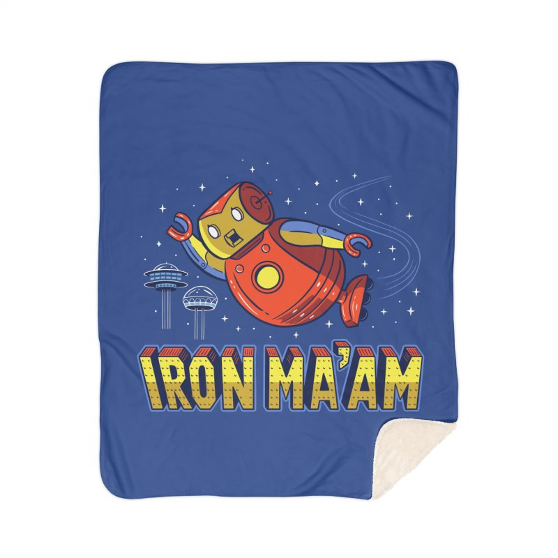 Iron Ma'am Home Sherpa Blanket Blanket by Ibyes