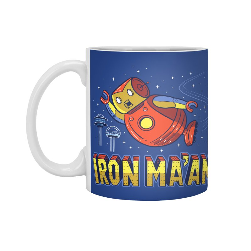 Iron Ma'am Accessories Standard Mug by Ibyes