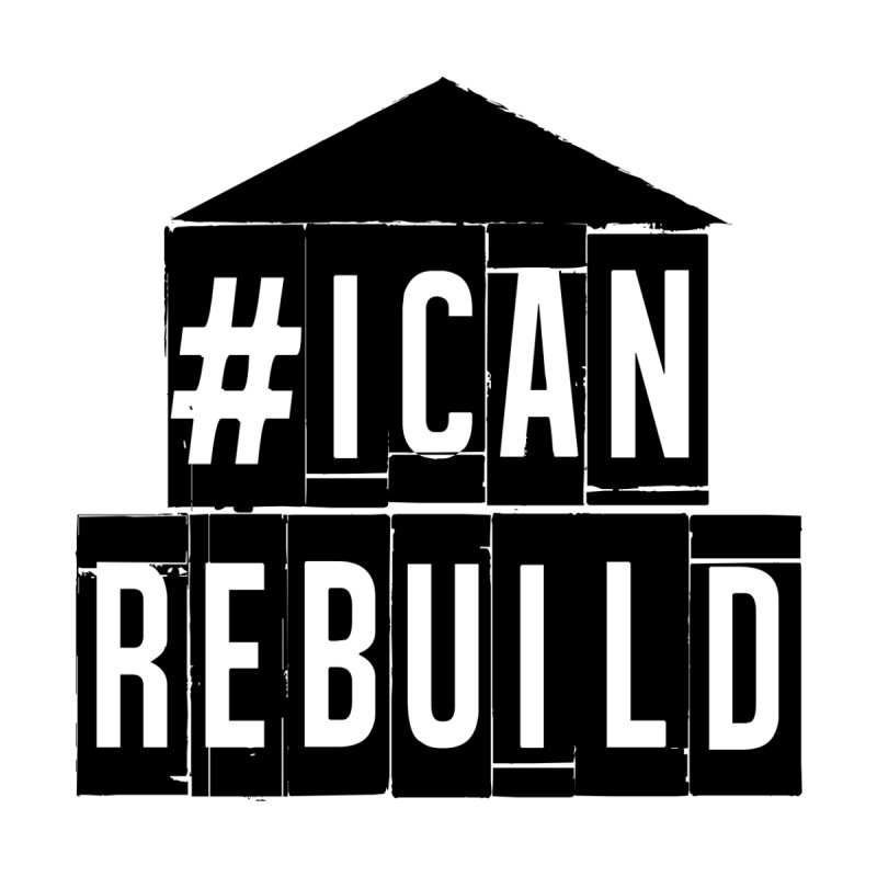 #icanrebuild Women's Fitted T-Shirt by #icanrebuild Merchandise