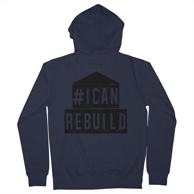 #icanrebuild Women's Zip-Up Hoody by #icanrebuild Merchandise
