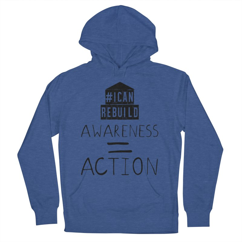 Action Women's Pullover Hoody by #icanrebuild Merchandise