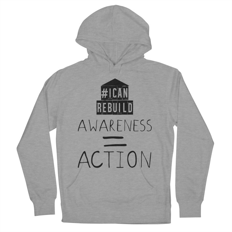 Action Men's Pullover Hoody by #icanrebuild Merchandise