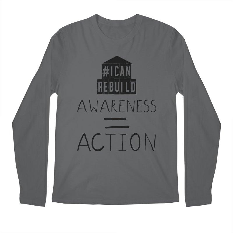 Action Men's Longsleeve T-Shirt by #icanrebuild Merchandise