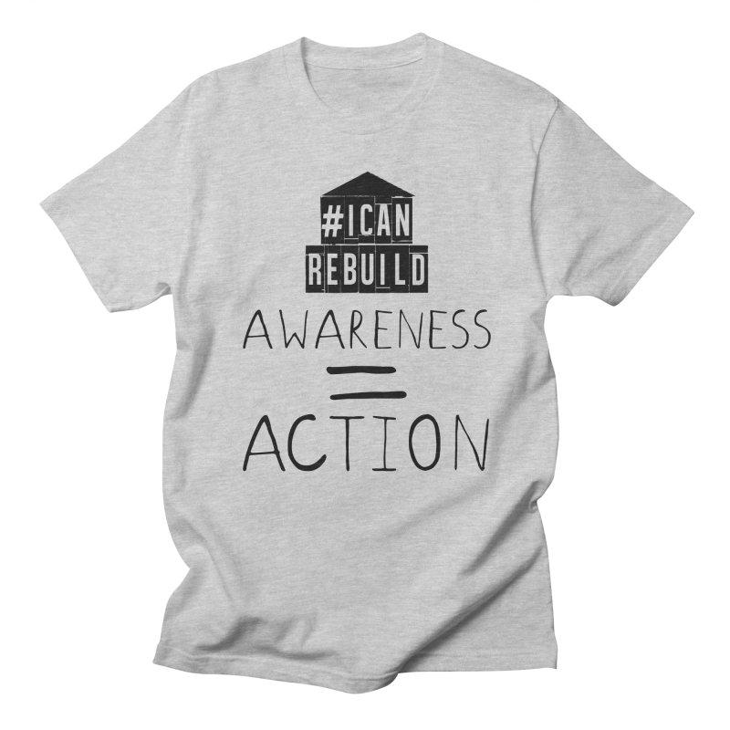 Action Men's T-Shirt by #icanrebuild Merchandise