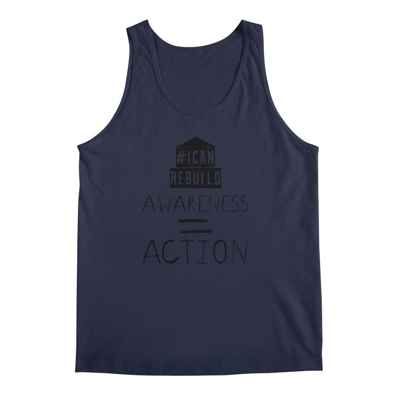 Action Men's Tank by #icanrebuild Merchandise