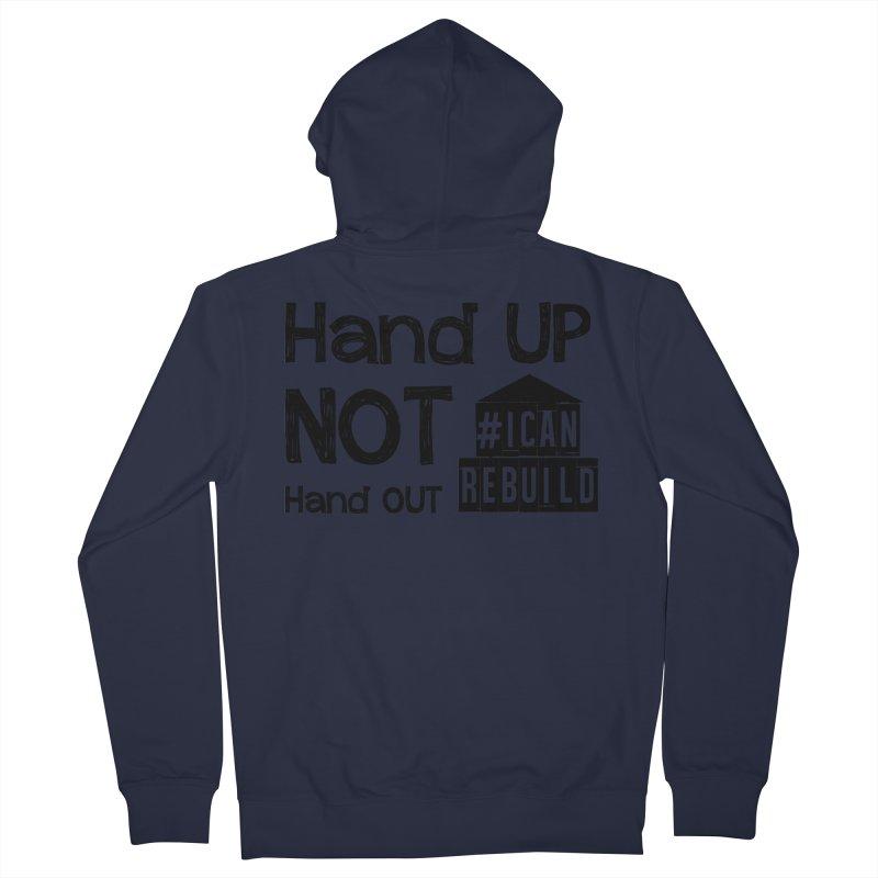 Hand Up Women's Zip-Up Hoody by #icanrebuild Merchandise