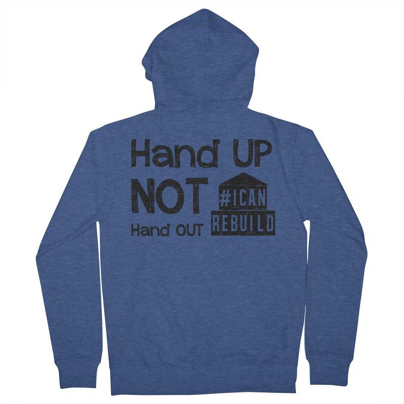 Hand Up Men's Zip-Up Hoody by #icanrebuild Merchandise