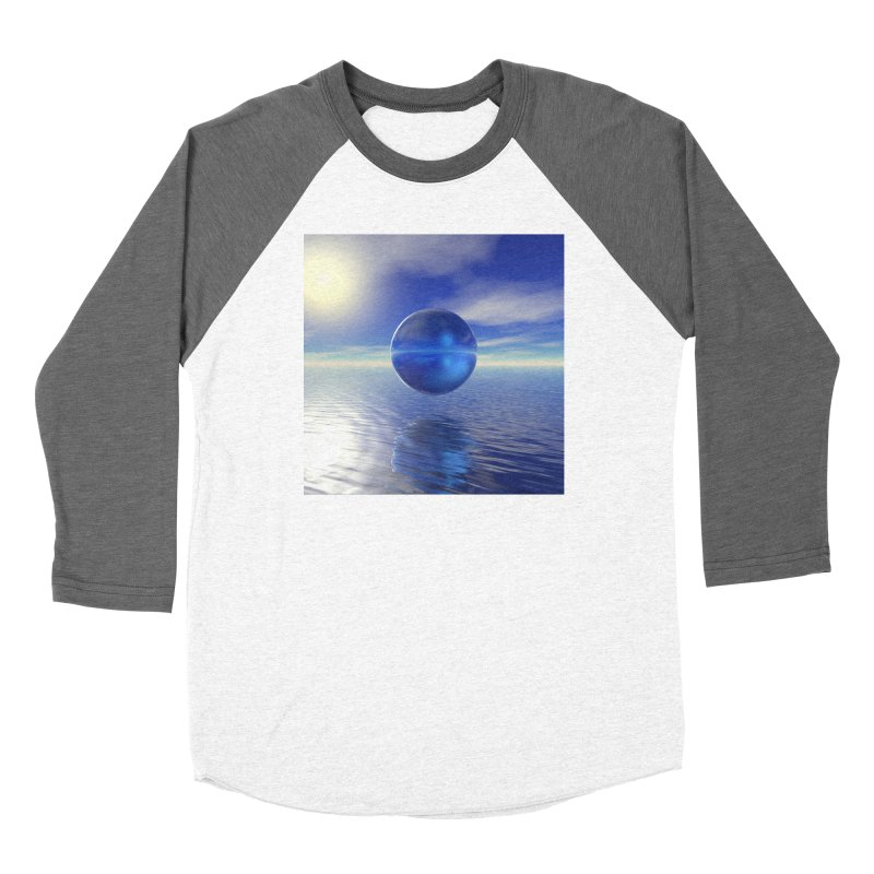 Abstract Blue Women's Longsleeve T-Shirt by Matthew Lacey-icarusismartdesigns