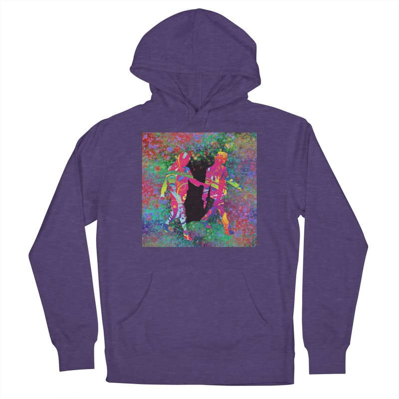 Strange Days Women's Pullover Hoody by Matthew Lacey-icarusismartdesigns