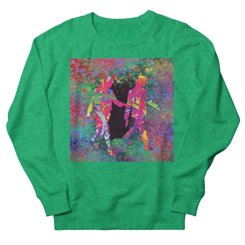 Strange Days Women's Sweatshirt by Matthew Lacey-icarusismartdesigns