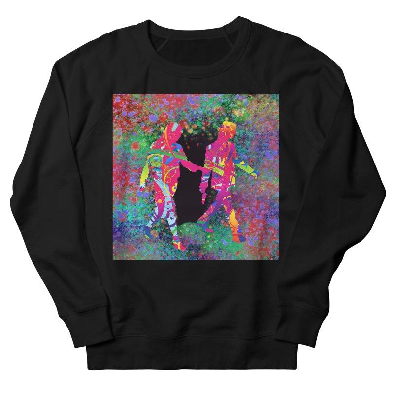 Strange Days Men's Sweatshirt by Matthew Lacey-icarusismartdesigns