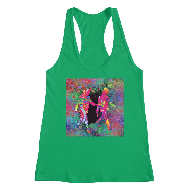 Strange Days Women's Tank by Matthew Lacey-icarusismartdesigns