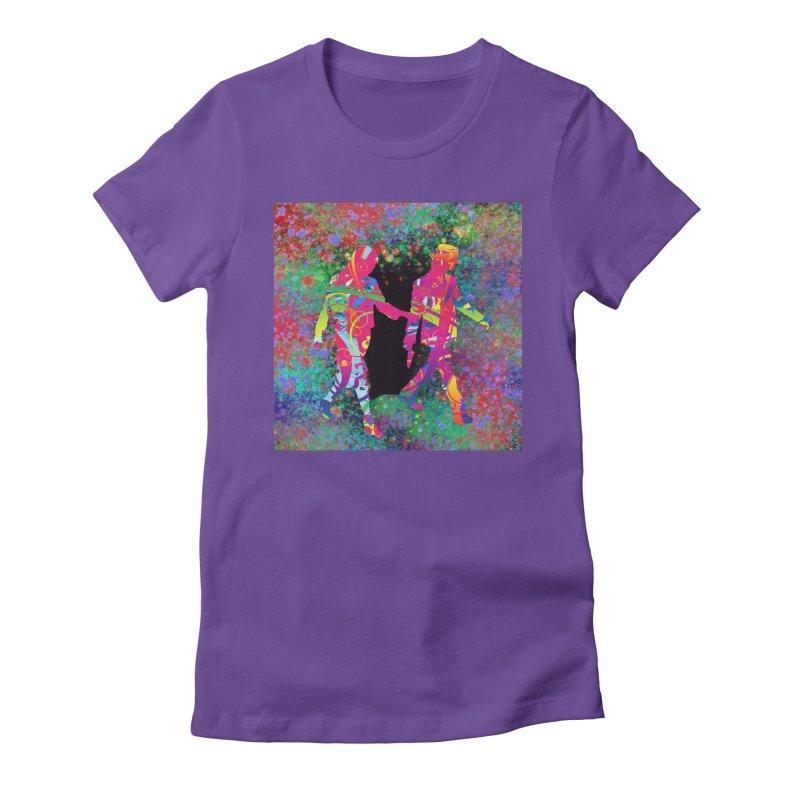 Strange Days Women's T-Shirt by Matthew Lacey-icarusismartdesigns