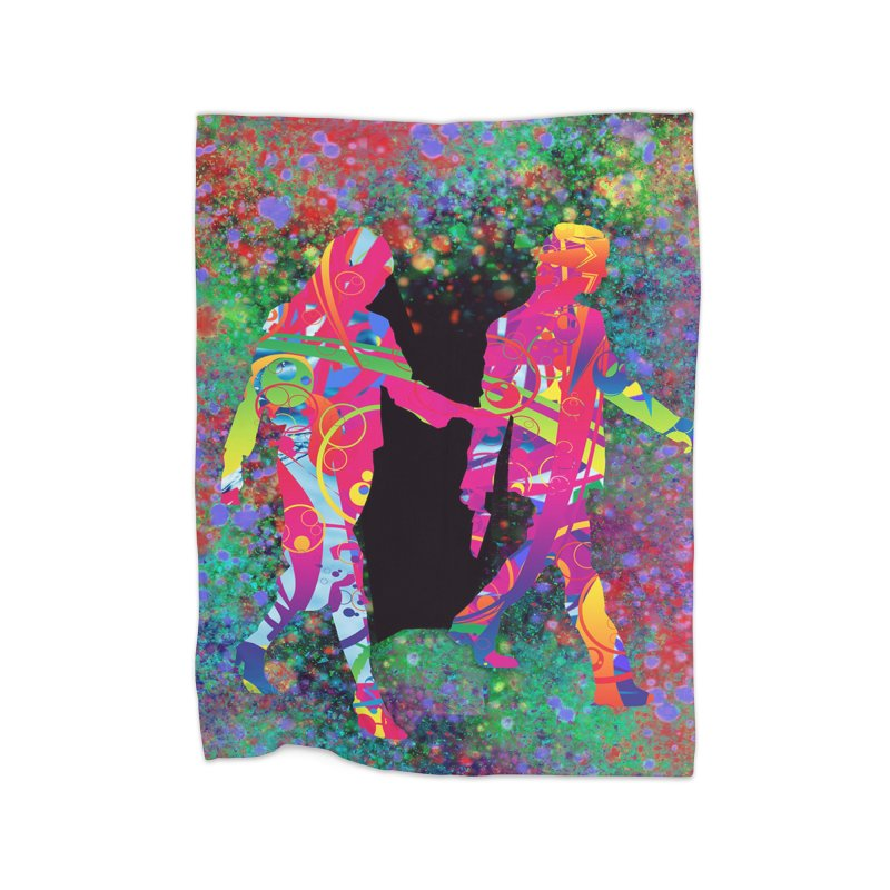 Strange Days Home Blanket by Matthew Lacey-icarusismartdesigns