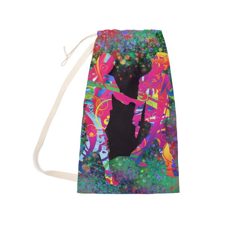 Strange Days Accessories Bag by Matthew Lacey-icarusismartdesigns