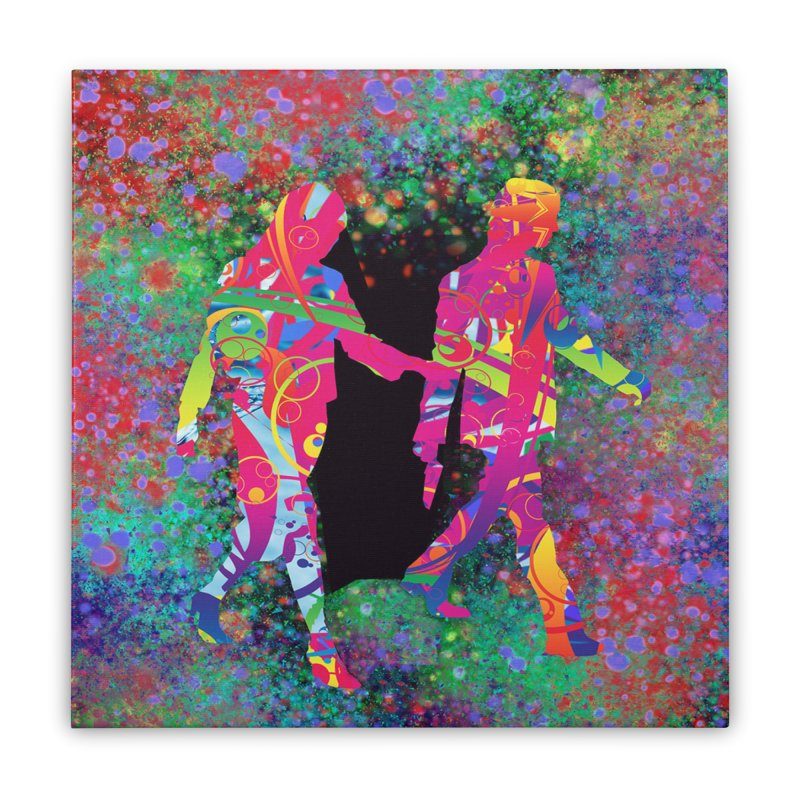 Strange Days Home Stretched Canvas by Matthew Lacey-icarusismartdesigns