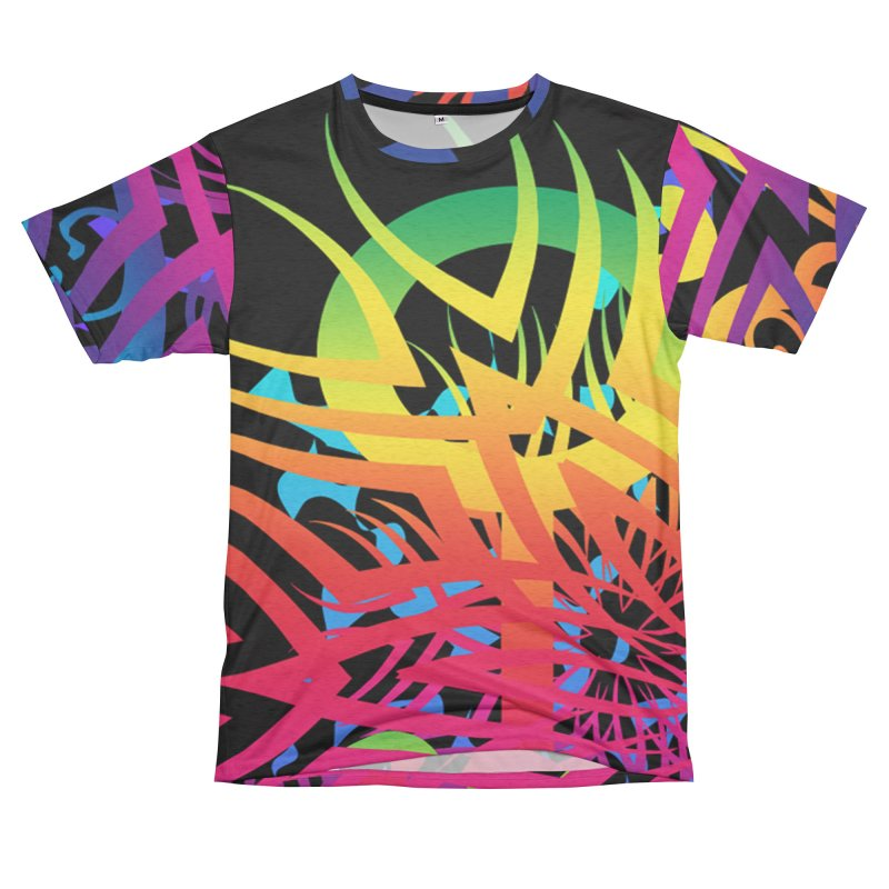 Abstract Jungle Men's Cut & Sew by Matthew Lacey-icarusismartdesigns