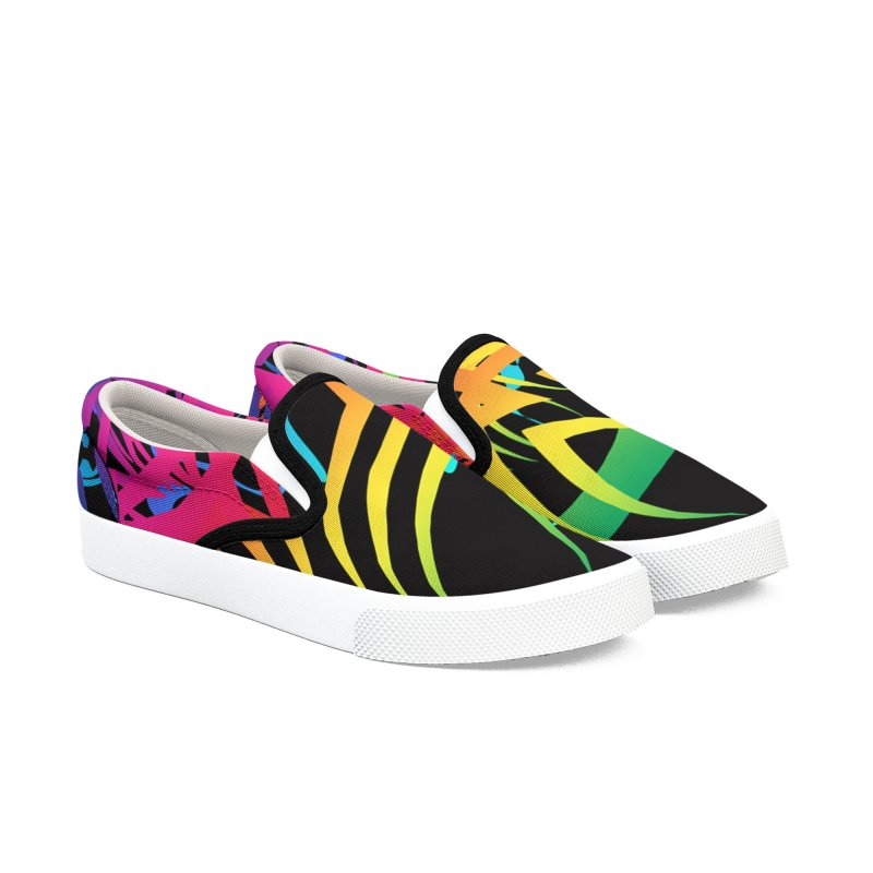 Abstract Jungle Women's Shoes by Matthew Lacey-icarusismartdesigns