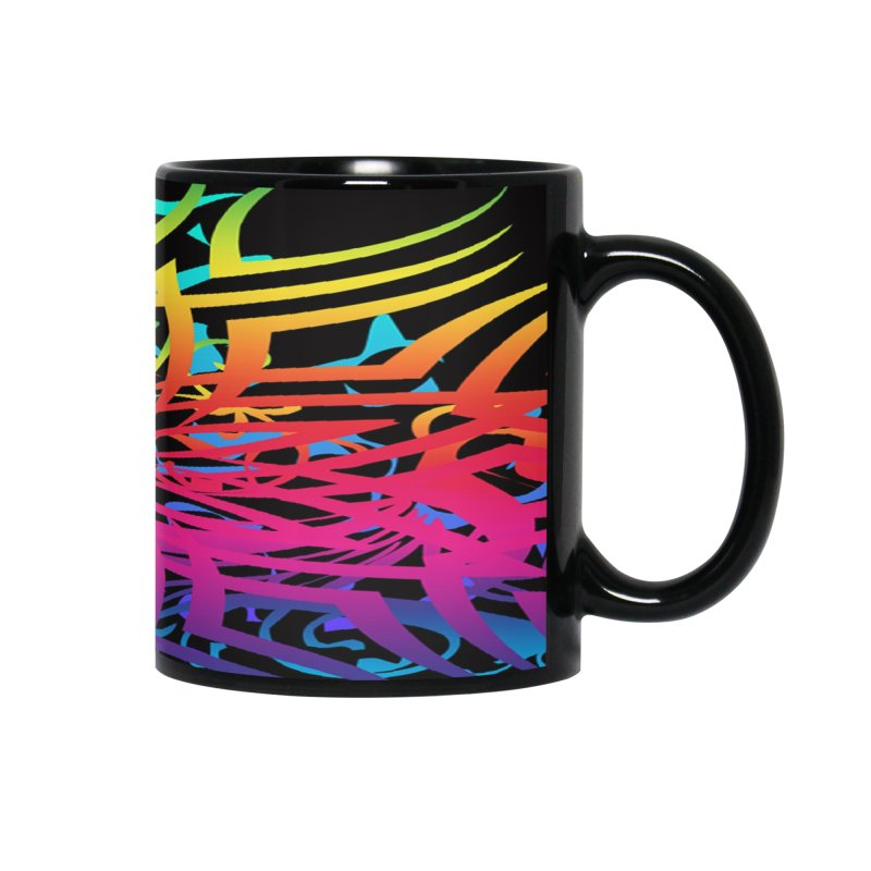 Abstract Jungle Accessories Mug by Matthew Lacey-icarusismartdesigns