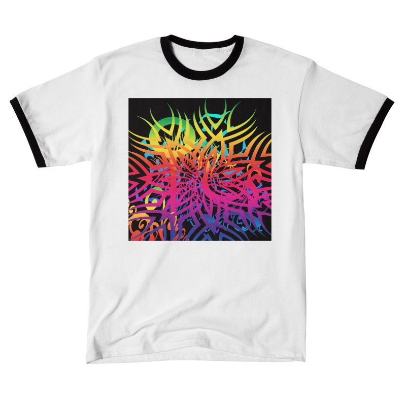 Abstract Jungle Women's T-Shirt by Matthew Lacey-icarusismartdesigns