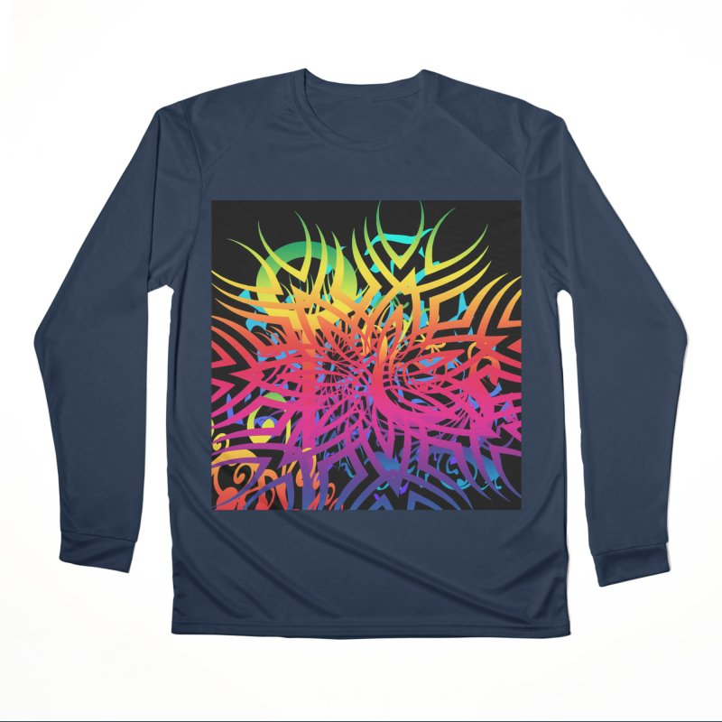 Abstract Jungle Men's Longsleeve T-Shirt by Matthew Lacey-icarusismartdesigns