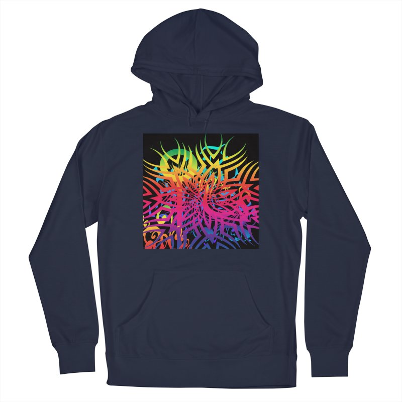 Abstract Jungle Men's Pullover Hoody by Matthew Lacey-icarusismartdesigns