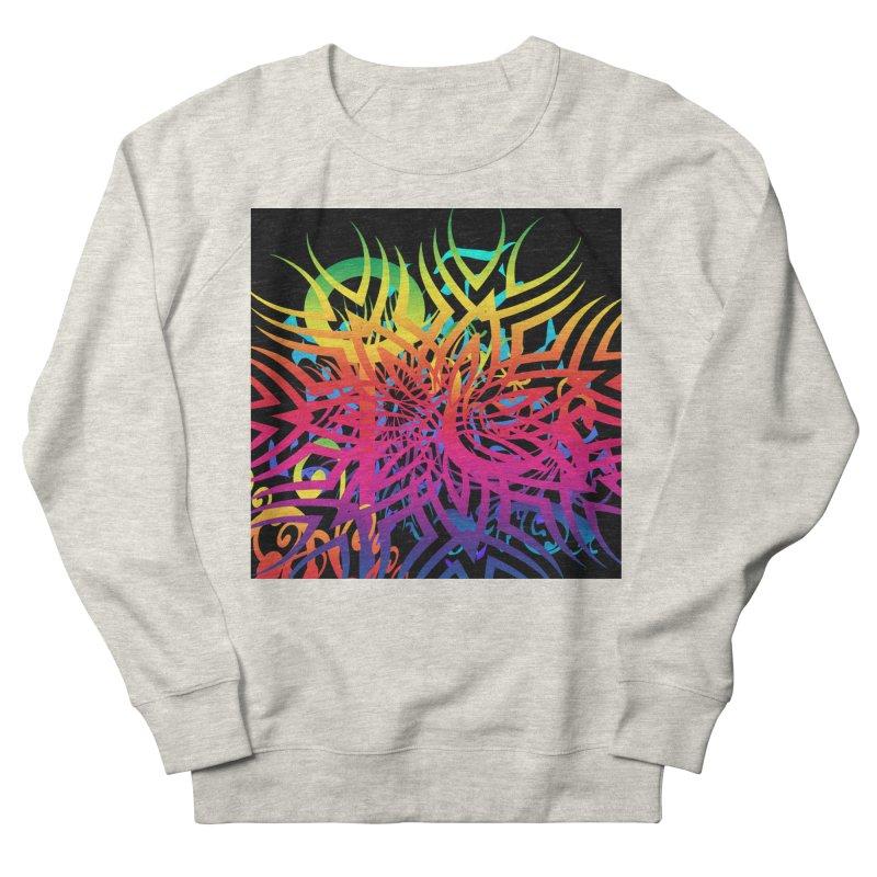 Abstract Jungle Men's Sweatshirt by Matthew Lacey-icarusismartdesigns