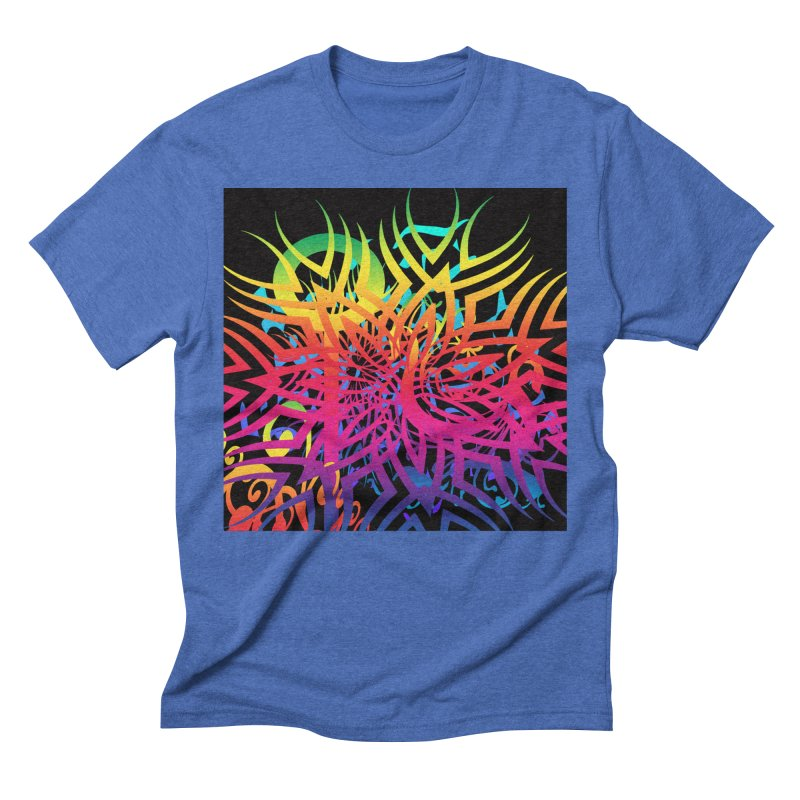 Abstract Jungle Men's T-Shirt by Matthew Lacey-icarusismartdesigns