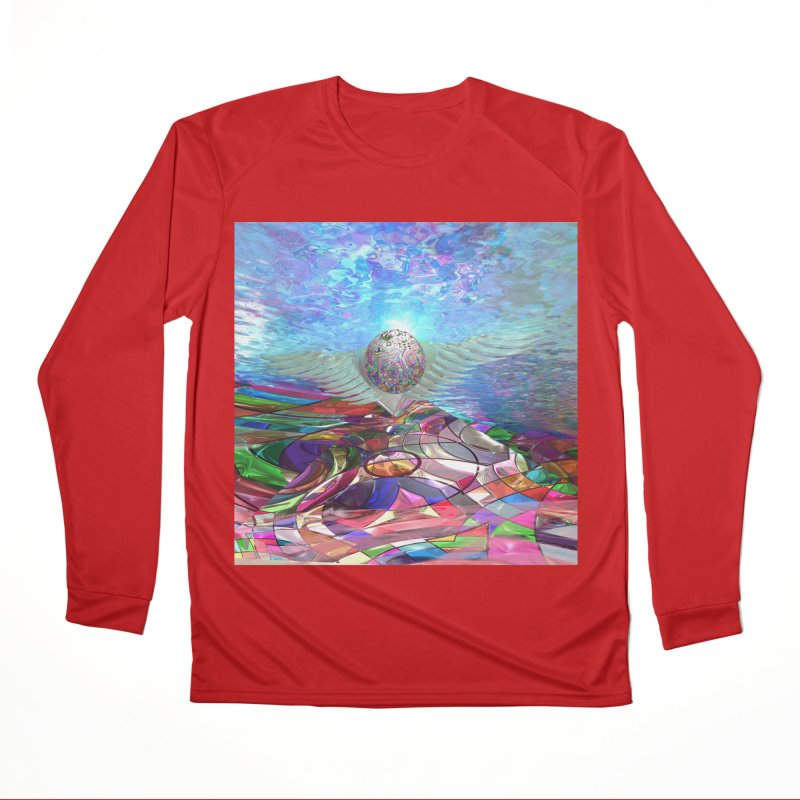 Icarus Rising Men's Longsleeve T-Shirt by Matthew Lacey-icarusismartdesigns